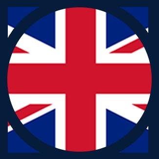 Studuj v Anglii - vlajka UK