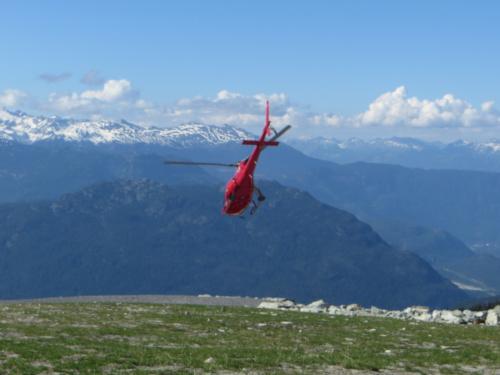 Helikoptéra v Kanadě