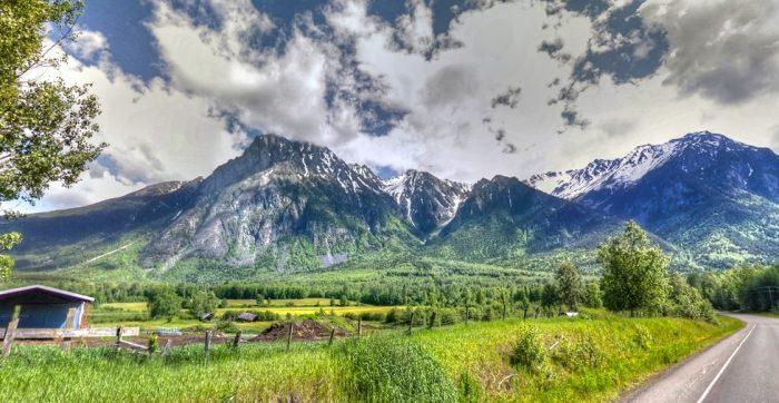 Překrásná příroda v Kanadě