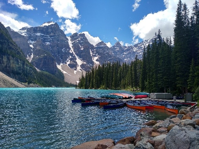 Kanada - Moraine Lake