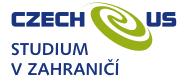 logo studium v zahraničí czech-us